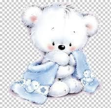teddy bear blue